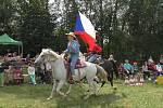 Desátý ročník soutěžního odpoledne s koňmi.