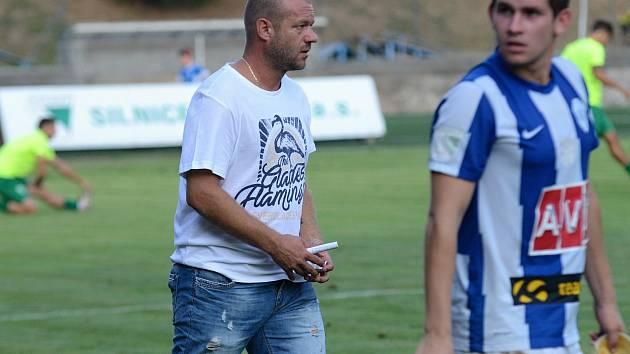 Archivní foto - fotbalisté Čáslavi dotáhli zápas 1. kola Mol Cupu do penaltového rozstřelu, ale v něm Vlašimi podlehli.