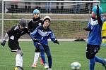 Fotbalový přátelský zápas, mladší žáci, kategorie U12: FC Žďas Žďár nad Sázavou - FK Čáslav 7:9.