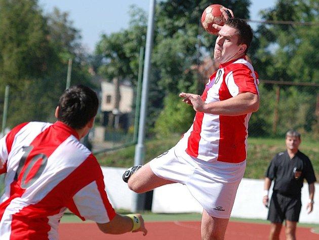 1. kolo Českého poháru házené: Kutná Hora - Ledeč n. S., 5. září 2010.