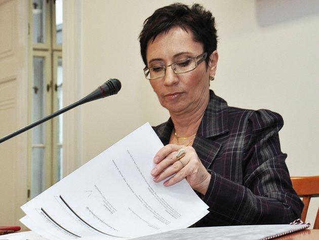 Hejtmanka Zuzana Moravčíková