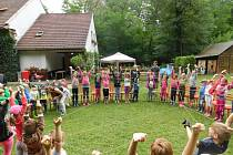 Děti si užily tábor v přírodní lokalitě V Hutích.