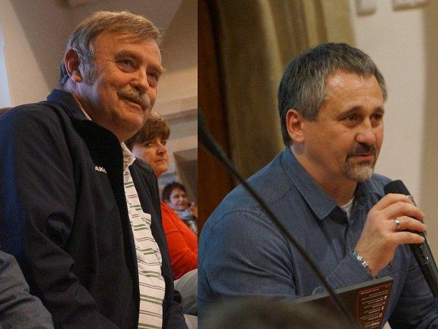 Oldřicha Kubového (na snímku vlevo) vystřídal na postu velitele Městské policie Kutná Hora Václav Mareček (na snímku vpravo).