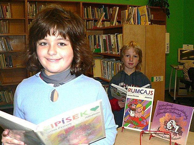 Žáci ze ZŠ T.G.M Kutná Hora zavítali do místní knihovny.