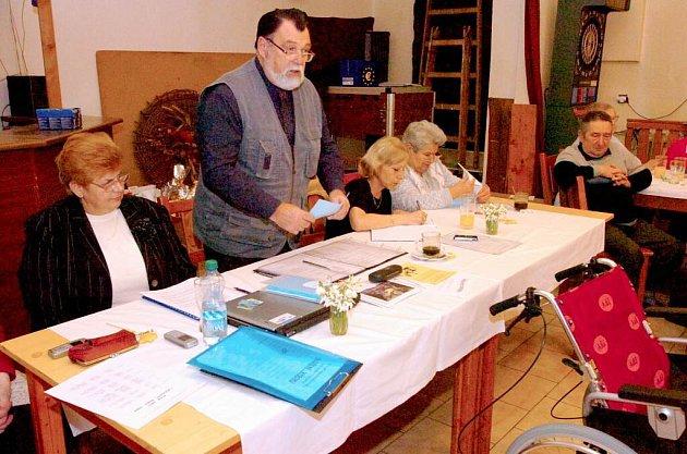 Výroční schůze Místní organizace Svazu tělesně postižených v Červených Janovicích