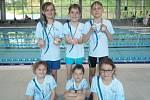 Středočeský pohár nejmladšího žactva se konal v Mladé Boleslavi. Kutnohorští plavci přivezli hned několik medailí.