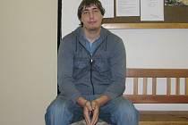 Tomáš Lutr ze Zbraslavic, který hledá práci.