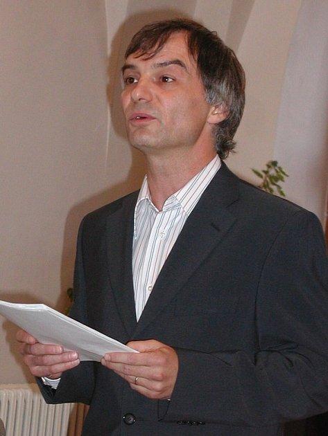 Ivan Trojan na literárním festivalu Ortenova Kutná Hora 2007.