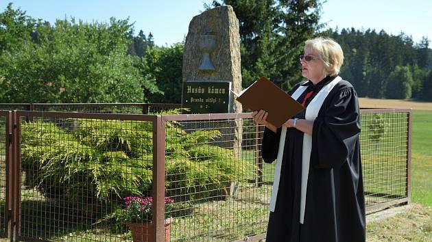 Památku Jana Husa uctili v Nových Nespeřicích.