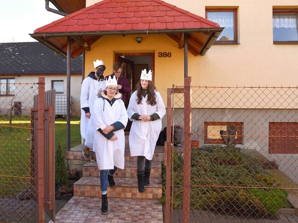 Tříkrálová sbírka se konala ve Zbraslavicích.