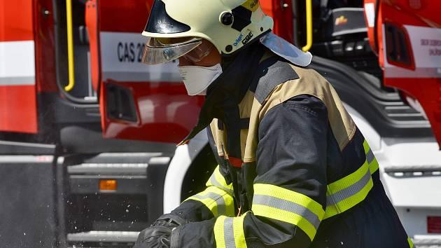 Dobrovolní hasiči. Ilustrační foto.
