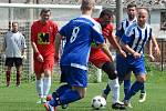 Fotbalový okresní přebor: TJ Sokol Červené Janovice - FK Kavalier Sázava B 2:5 (1:2).