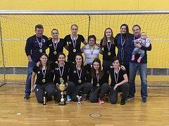 Čáslavské fotbalistky vyhrály halový turnaj v Olomouci.