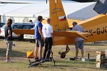 Slavnostní zahájení MS v akrobatickém létání
