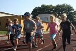 Z T-Mobile Olympijského běhu v podání žáků Základní školy Žižkov v Kutné Hoře.