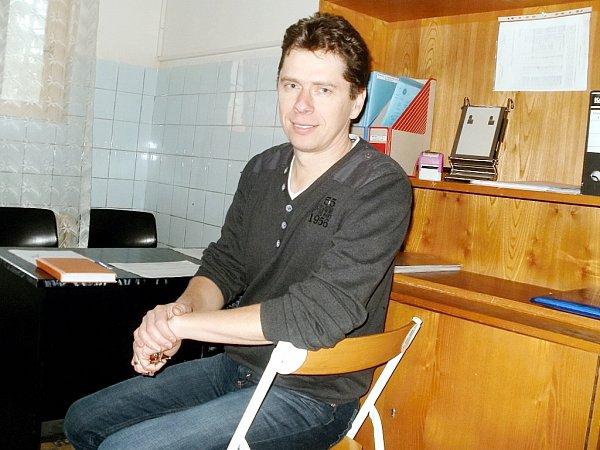 Pracovník centra Petr Seidl