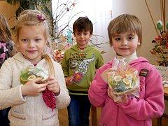 V Domově Barbora vystavují velikonoční dekorace