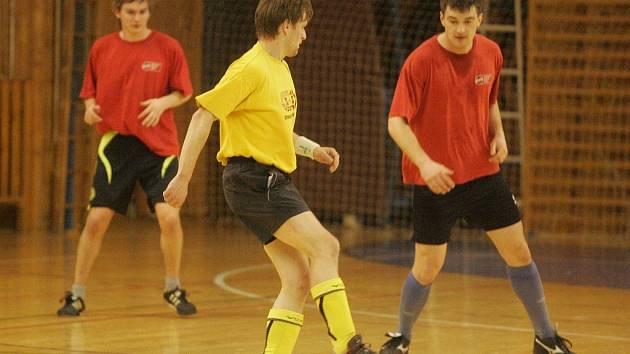 Ze 16. hracího víkendu kutnohorské Futsal ligy Restaurace Na Valech.