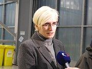 Ministryně obrany Karla Šlechtová navštívila čáslavské letiště.