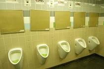 Veřejný záchod.