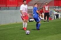 Z divizního fotbalového utkání Kutná Hora - Trutnov (2:1)