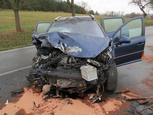 Nehoda se stala u Čáslavi ve směru na Podhořany