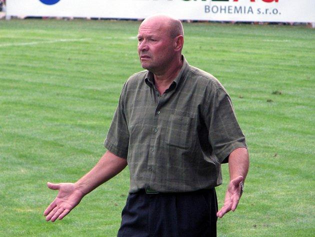 Trenér FC Zenit Čáslav Miroslav Koubek