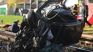 Tragická nehoda v Hlízově.
