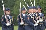 Jmenování nového velitele 21. základy taktického letectva Čáslav