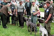 Oblastní výstava psů na zámku Kačina u Kutné Hory