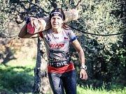 Martina Fabiánová na trati MS Spartan Trifecta 2018 v řecké Spartě.