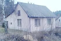 Kulturní objekt v osadě Dubina u Zruče nad Sázavou.