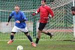 Fotbalová IV. třída, skupina B: TJ Sokol Červené Janovice B - TJ Jiskra Zruč nad Sázavou B 5:7 (3:2).