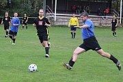 Fotbalová IV. třída, skupina B: TJ Sokol Červené Janovice - TJ Sokol Kačina 3:2 (2:2).
