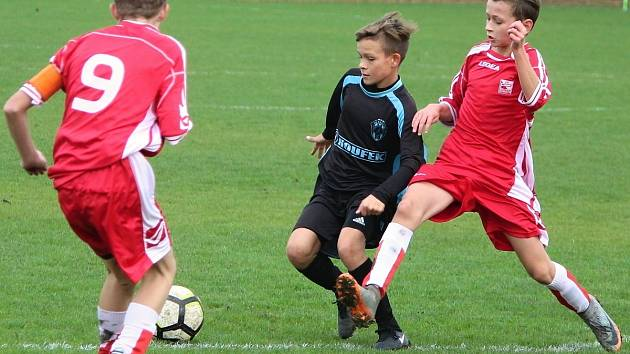 Fotbalová divize starších žáků U14: SK Polaban Nymburk - FK Čáslav 0:3 (0:1).