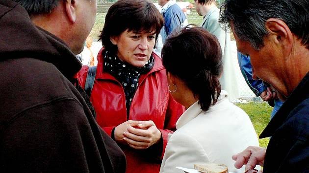 Kutnohorská poslankyně Olga Zubová