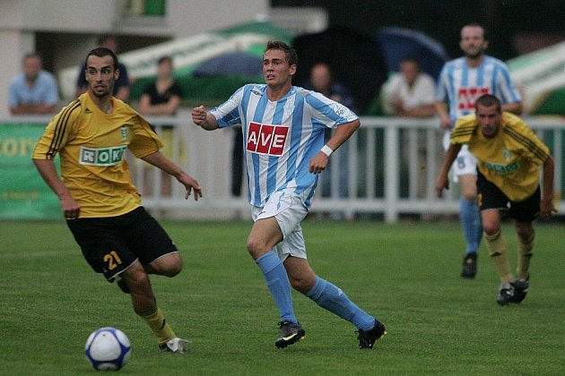 Fotbal II. liga: Čáslav - Karviná 3:1, neděle 2. srpna 2009