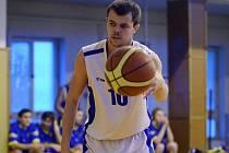 Basketbalista Sokola Kutná Hora Jaroslav Prušinovský.