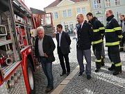 Čáslavský hasičský záchranný sbor se může pyšnit nejnovější hasičskou stříkačkou
