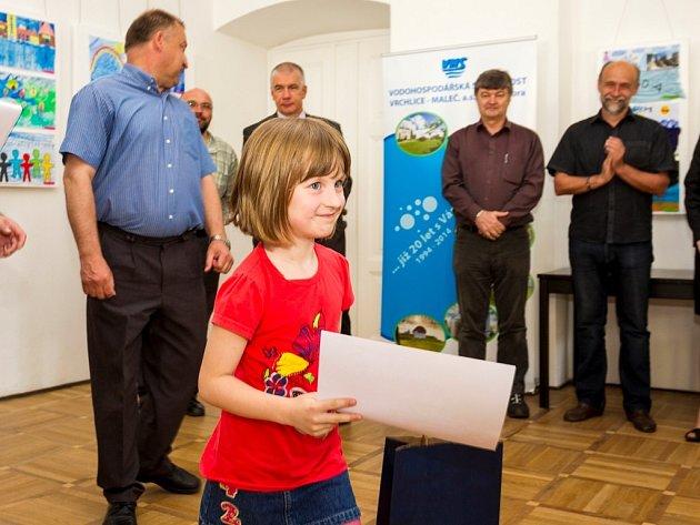 Vyhlášení výtvarné soutěže Voda a Energie.