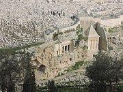 Kidrónské údolí s Olivetskou horou.