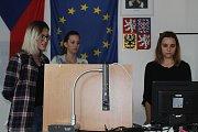 Díky projektu poznali studenti lépe město Čáslav i jeho široké okolí.