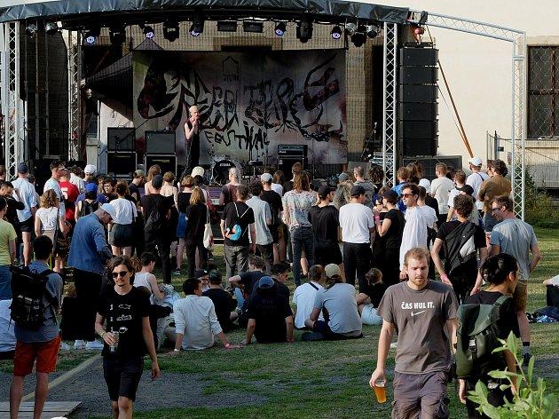 Festival Creepy Teepee v Kutné Hoře.