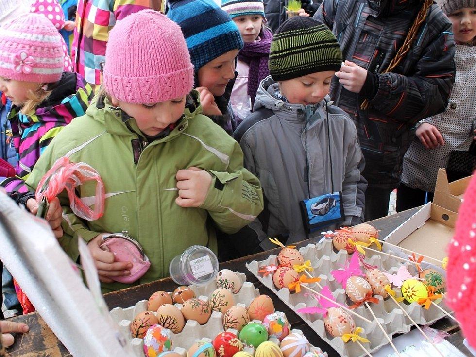 Velikonoční Jarmark Základní školy Žižkov 26. března 2013