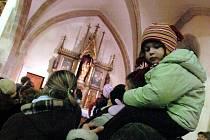 Dětská vánoční mše v kutnohorském kostele svatého Jakuba