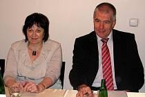 Ivana Vopálková (vlevo) a Ivo Šanc.