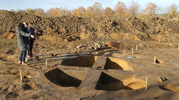 Archeologické naleziště u Poličan.