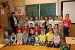 Základní škola Masarykova v Čáslavi, třída 1. A paní učitelky Mirky Jílkové.