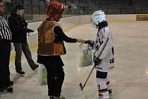 Z hokejových exhibicí kutnohorského potěru
