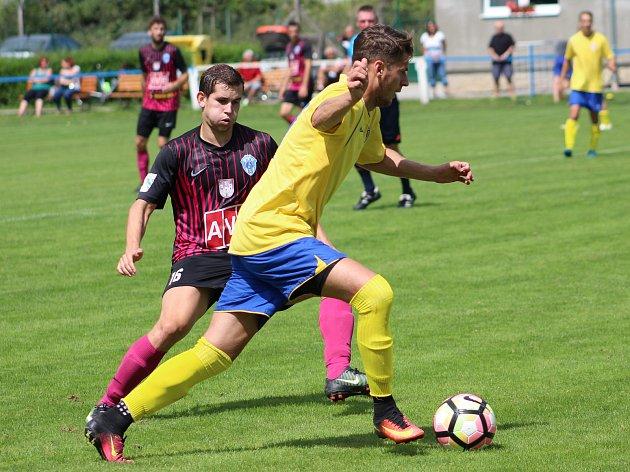 Čáslav v závěru zápasu s Chrudimí třikrát inkasovala a prohrála 0:3